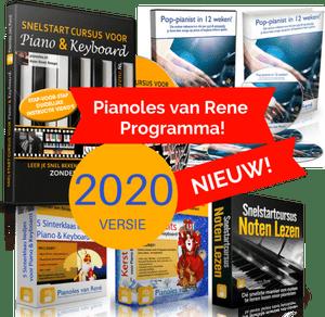Compleet Lesprogramma piano spelen
