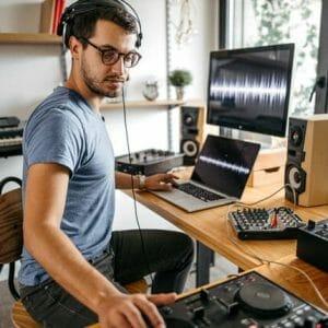 DJ Muziekproducer Worden